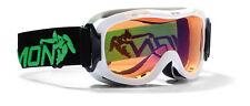 DMN Magic Single junior white Skibrille Snowboardbrille