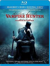 ABRAHAM LINCOLN: VAMPIRE HUNTER (BLU-RAY,DVD/DIGITAL COPY, 2012, 2-DISC SET)
