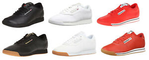 Reebok-Classic-Princess-Black-White-Red-Gum-Sneakers-Trainers-Tennis-Shoes