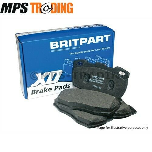 4.4 V8 BRITPART XD FRONT BRAKE PADS LR019618 BPXD RANGE ROVER L322 TD6