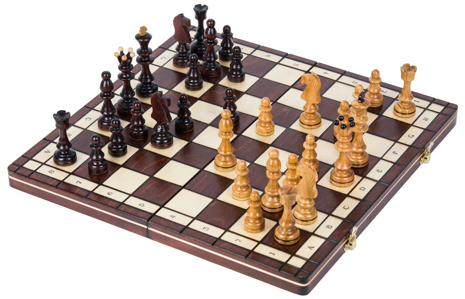 SQUARE - Wooden Chess Set SENATOR - Chessboard - 40 x 40 cm