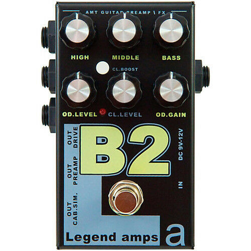 AMT B-2 Legend Amps 2 2-channel guitar preamp