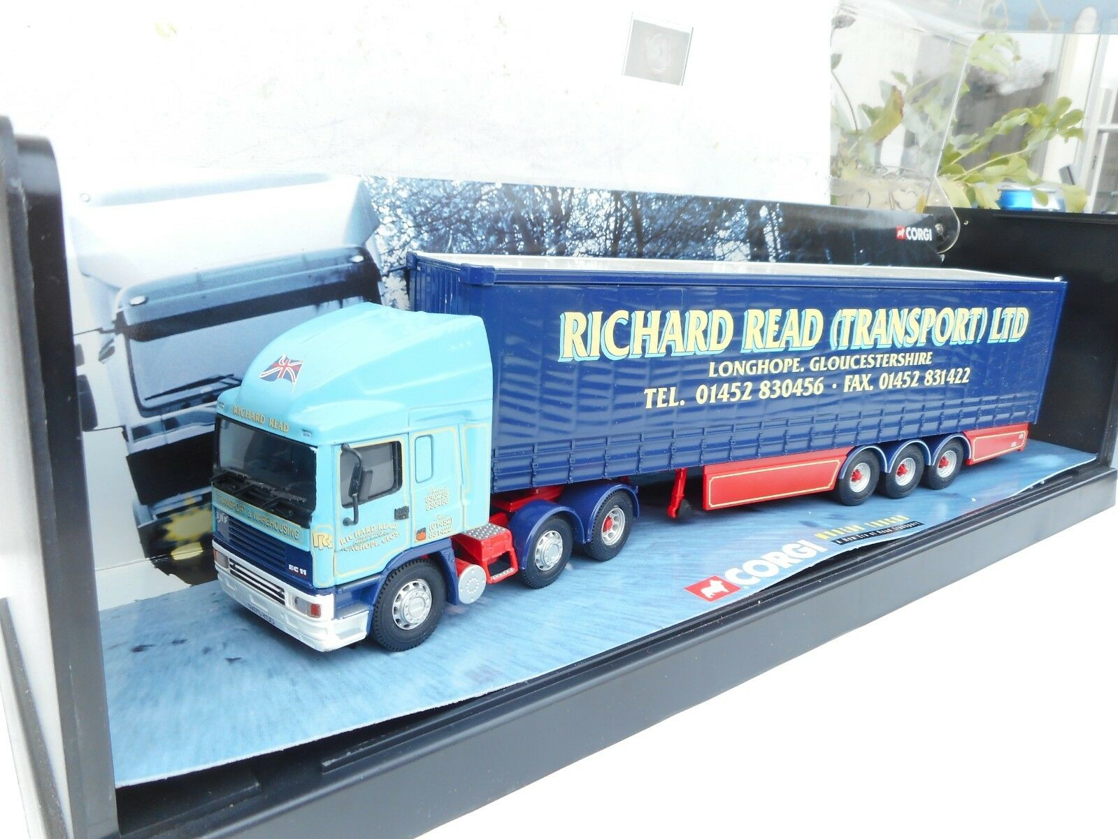 Garanzia del prezzo al 100% Corgi ERF ECT Olympic Curtainside-Richard Read ( ( ( Transport ) Ltd.1 50 IN VITRINE  moda