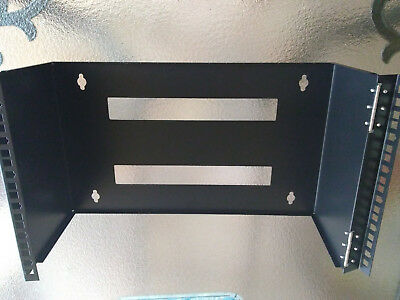 "square Nuts And Screws Sturdy Construction Loyal 6ru Hinged Wall Mount Bracket 10.5""h X 19""w X 8""d W/ 4"