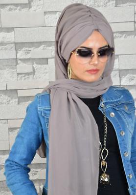 Schal Kopfbedeckung Hijab Bone Kopftuch Damen Hülle Hut unter Schal Esarp Sal