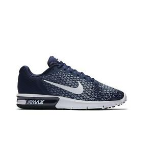 Details about Mens NIKE MAX SEQUENT 2 Blue Trainers 852461 400 UK 11