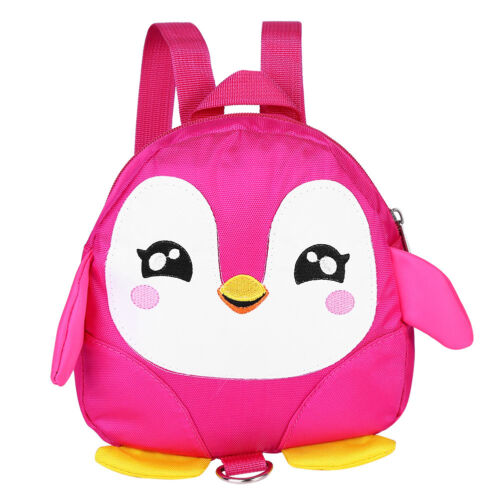 Cartoon Baby Toddler Kid Penguin Safety Harness Strap Bag Backpack With Reins UK