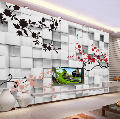 3D Farbe Plant Laces 7 Wall Paper Murals Wall Print Wall Wallpaper Mural AU Kyra