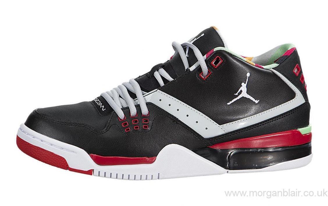 Nike air jordan flug 23 schwarz / weiß 317820-015 basketball - schuhe für männer