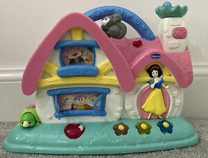 Chicco Biancaneve Disney Principessa Cottage Musicale Attività Gioco luci suoni