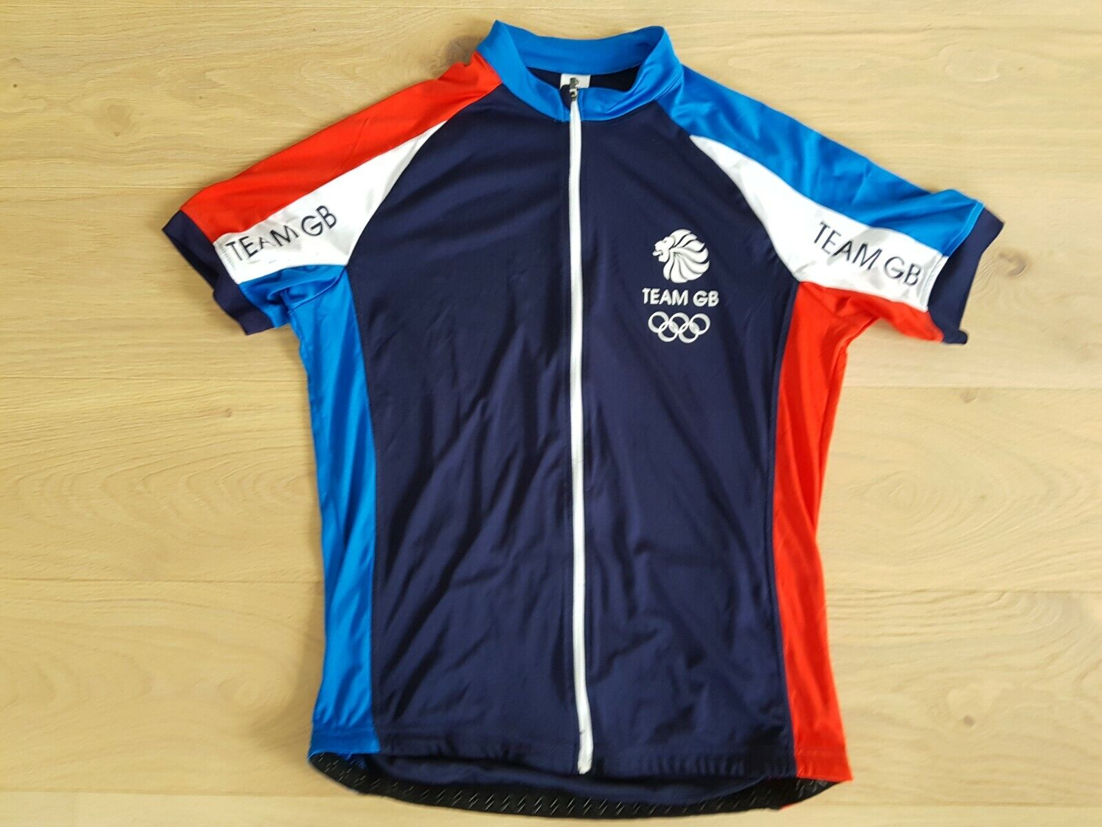 Olympic Team GB Cycling Jersey Size L