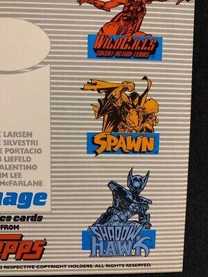 SAVAGE DRAGON 3 CARD PROMO SHEET