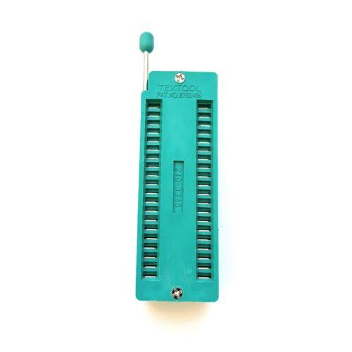 20 18 28 /& 40 broches Royaume-Uni vendeur ZIF//ZIP//DIP IC Socket idéal pour Arduino 14 16