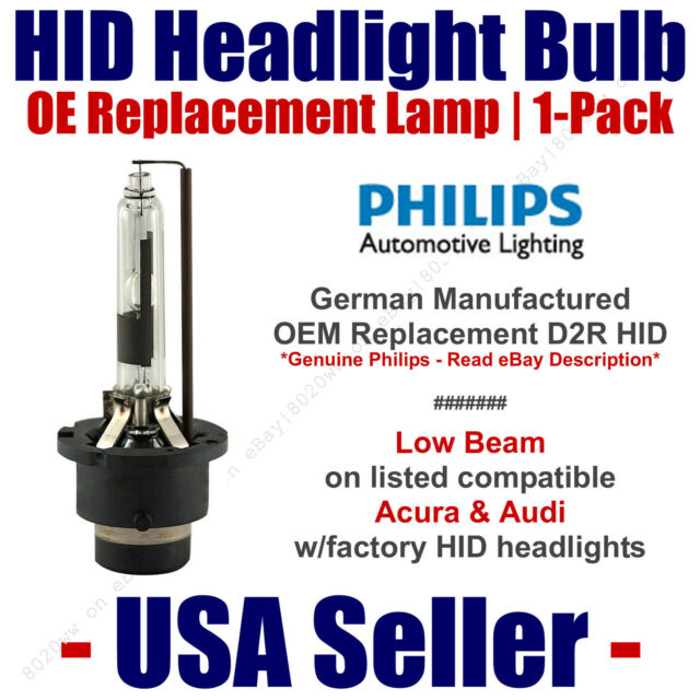 OE HID Headlight Low Beam GENUINE German 1-Pack For Select