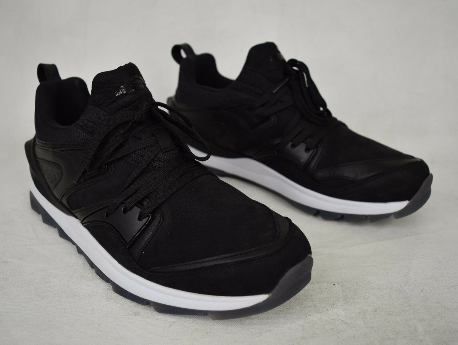 Puma Shoes Trinomic Blaze Swift Tech Black White Sneakers 11 Mens 357824 New
