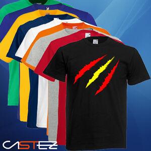 Camiseta España yo soy español bandera española garras ...