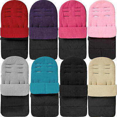 Pushchair Footmuff Cosy Toes Compatible with Graco Evo Avent Sand