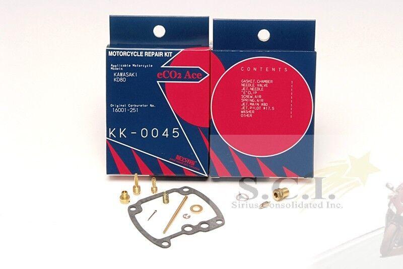 Topteng 4x Carburateur Kit de r/éparation Reconstruire pour Kawasa-ki 80-83 KZ750 E N LTD ZN700 18-2452