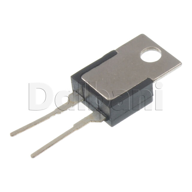 3pcs KSD9700 F120C Cantherm Thermostat Temperature Switch 5A 250V 2P 120C