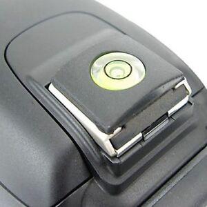Copri Slitta Flash.Dettagli Su Copri Slitta Flash Livella Bolla Protezione Canon Nikon Pentax Reflex Contax Ef