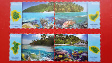 2015 Malaysia Islands & Beaches Series 3 - Stamp Set