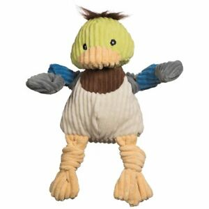 Hugglehounds  KNOTTIE DUCK Squeaker Dog Toy LARGE