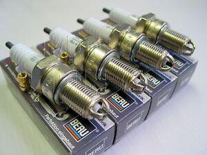 Conjunto-de-4-Bujias-BERU-OEM-VW-T25-tipo-25-Transportador-Camper-Van-1-9-DG-Motor
