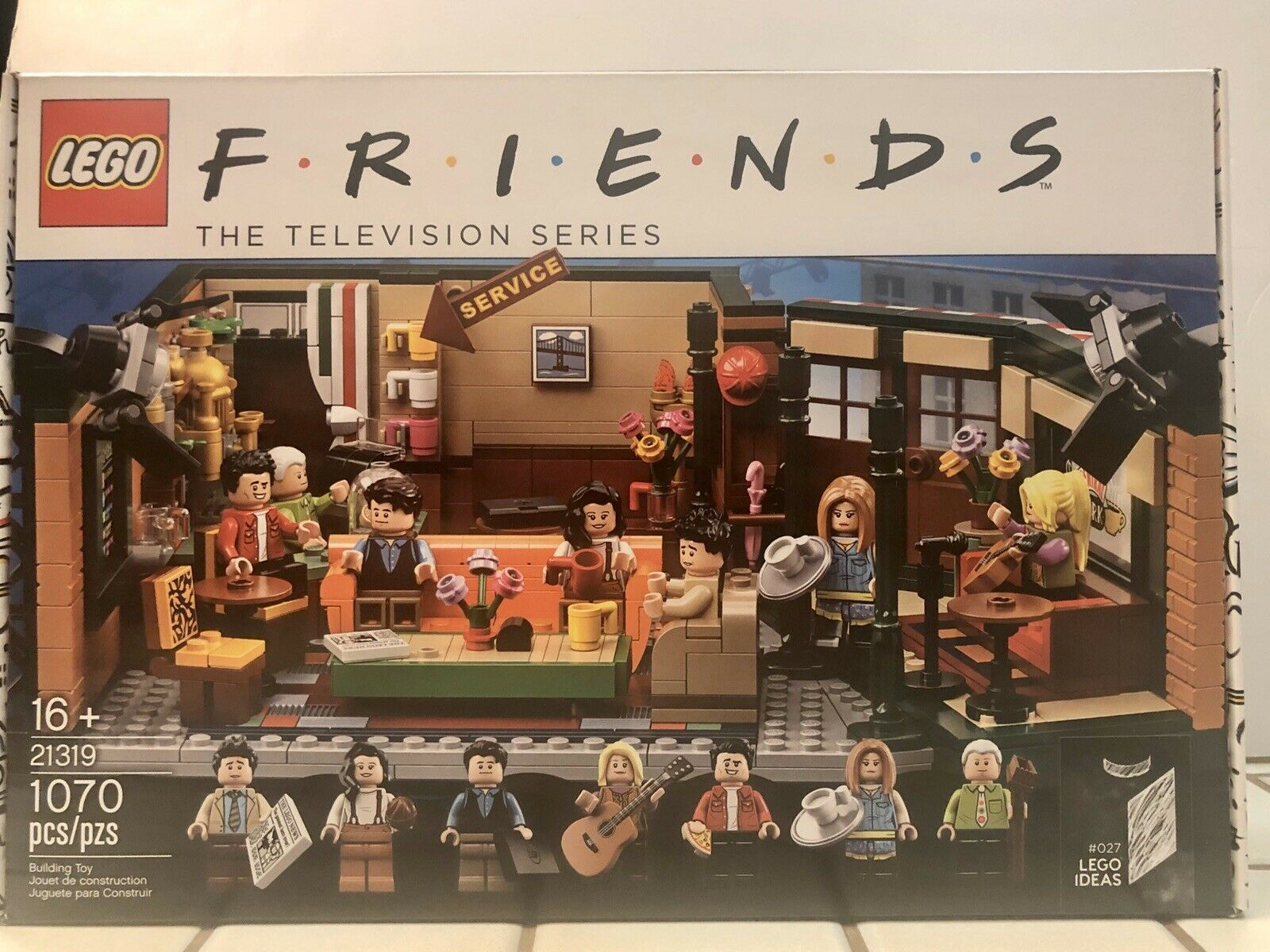 LEGO Friends TV Show Central Perk  21319 2019 BRAND NEW IN BOX