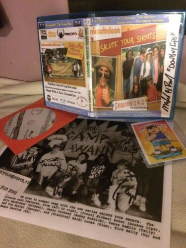 Autographed Salute Your Shorts Cast Photo//Donkeylips GPK Parody Card /& Bluray