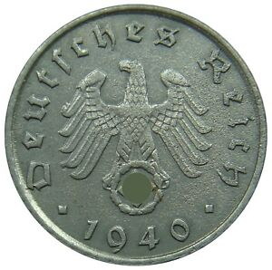 (g82) - Deutschland Germany Drittes Reich - 5 Reichspfennig 1940-1944 - Km# 100 Ein GefüHl Der Leichtigkeit Und Energie Erzeugen