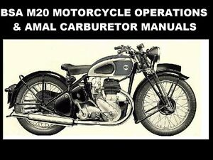 download manual book technical mechanik motor bsa m20