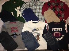 Boys 4 4T Lot Fall Winter Clothes Shirt Pants Gymboree Gap Crazy 8 Old Navy BTS