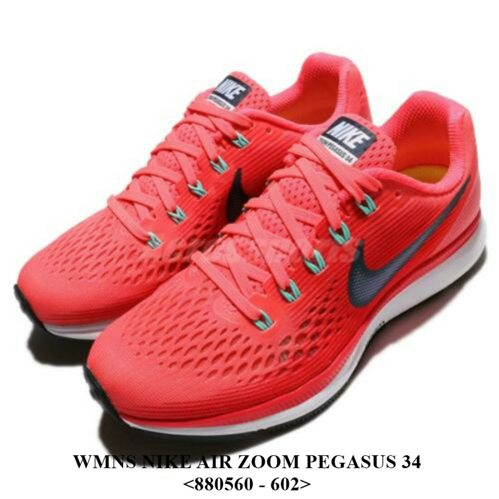 Serratura collina Quantità di  Women's NIKE AIR ZOOM PEGASUS 34 <880560 - 602>,RUNNING/CASUAl Shoe.NEW  WITH BOX for sale online