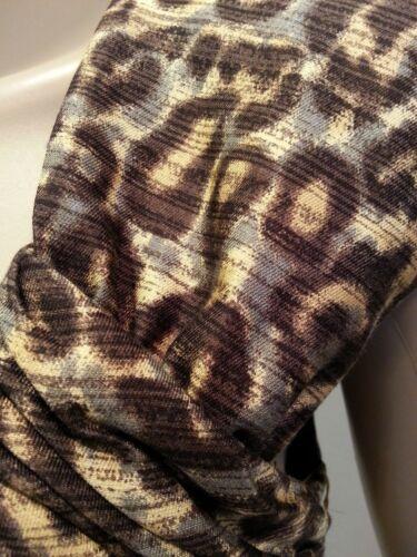 Zijde Nwt Tracy Jurk Reese 6 Luipaard Gevlekte Wol schede dierenprint YPYrqx7