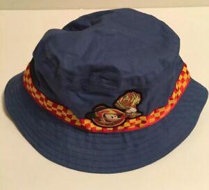 13de92f63 Details about Disney Parks Mickey Mouse bucket hat Blue