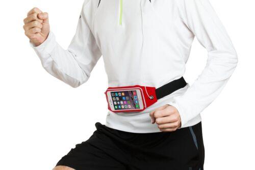 Water-Resistant Sports Running Gym Adjustable Waist Belt Bag Case For Huawei P10