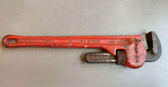 """18/"""" ALUMINUM PIPE WRENCH HAND TOOLS PW-18"""