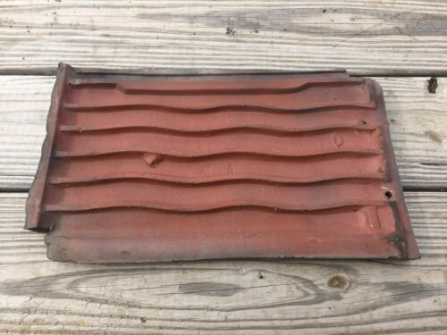 Ludowici//Celadon Roof Tile Moss Green Patina Americana Tree Bark 10 Pieces $60.