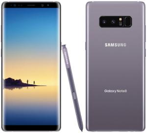 Samsung-Galaxy-Note8-SM-N950U-64GB-Gray-AT-amp-T-7-10-Unlocked