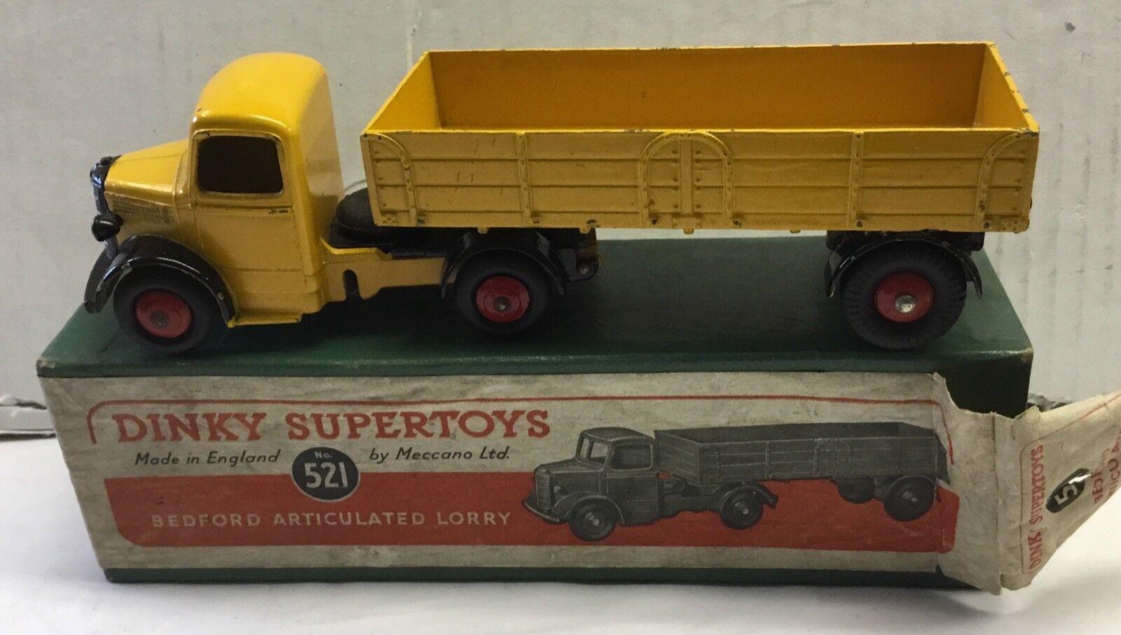 liquidazione fino al 70% DINKY SUPERgiocattoli 521 Bedford Bedford Bedford Camion articolato. molto BUONO in scatola originale  Miglior prezzo