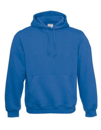 B/&C Herren Pullover HOODED SWEAT Sweatshirt Hoodie Kapuze WU620