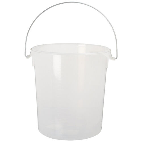 22 Quart Rubbermaid 5729 Round Storage Container with Bail Lid Not Included