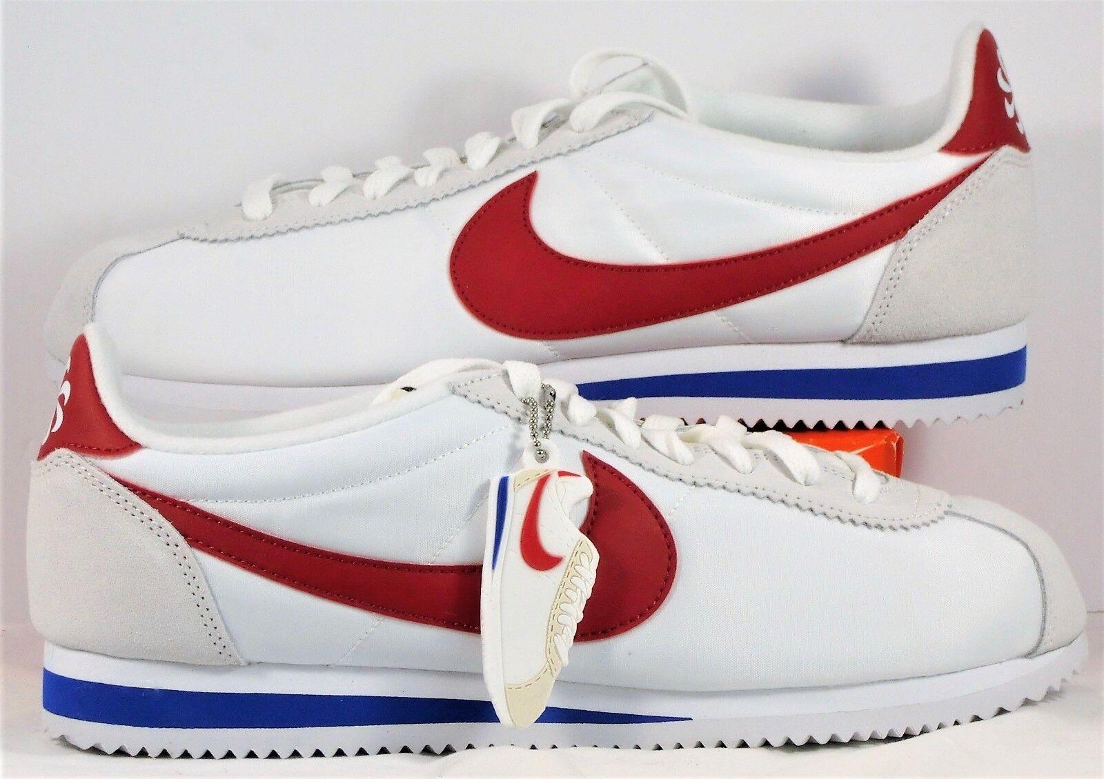 Nike cortez - - cortez klassiker - forrest gump, und rote & royal sz 9,5 neue 847709 164 44f8f3