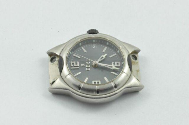 Ebel E-Type Women's Watch Steel/Steel Quartz Men's Without Bracelet 9087C21