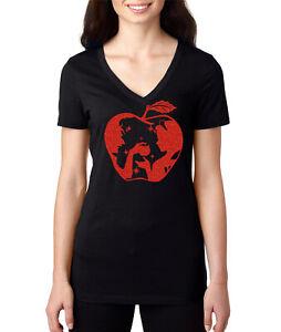 Snow White Glitter Red Apple Evil Queen T-shirt - Women's ...Disney Evil Queen T Shirt