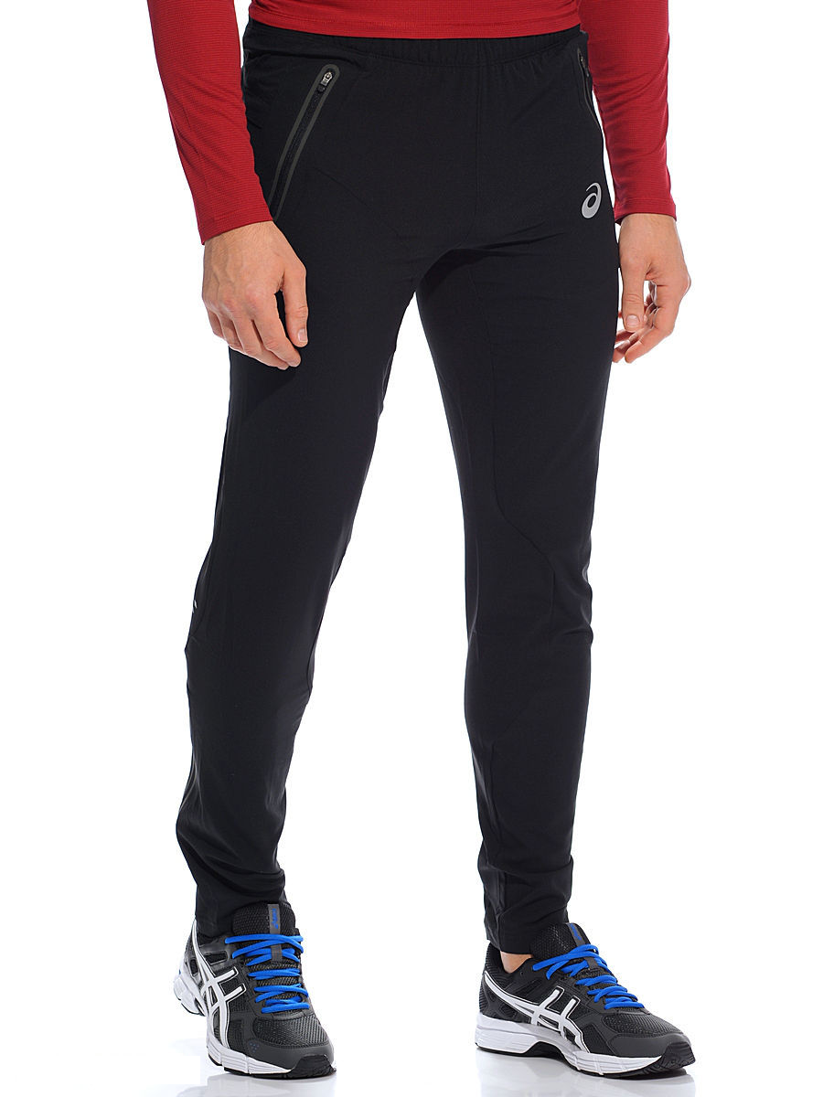 ASICS Men's Running Pants Sports X Woven Core Pants - Performance Black - New