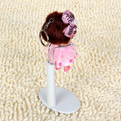 Adjustable Doll Stand Display Holder for ob11 Dolls Display Stand White