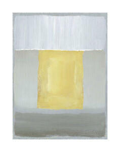 Details About Half Light Ii Caroline Gold Pale Yellow Gray Abstract Art Print 20x28 Poster