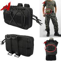 Tactical Molle Waist Bag Outdoor Utility Tools Bag Phone Pouch For Belt /vest Bk