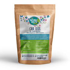 Chia Seeds 2kg • Raw Natural Dark Chia • Diet Weight Loss Cleanse • Bulk Chia